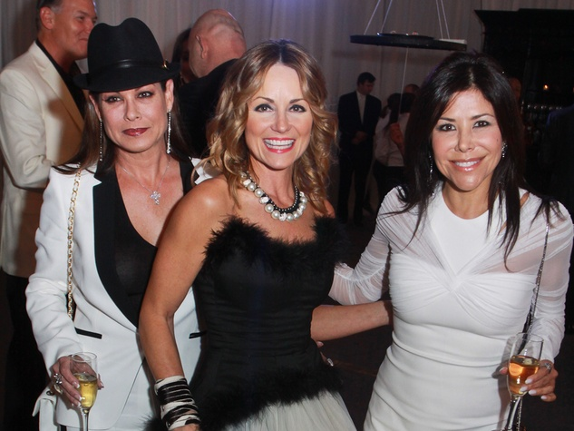 196 Kathy McGill, from left, Lucinda Loya and Erika Bagwell at Lucinda Loya's birthday celebration February 2014