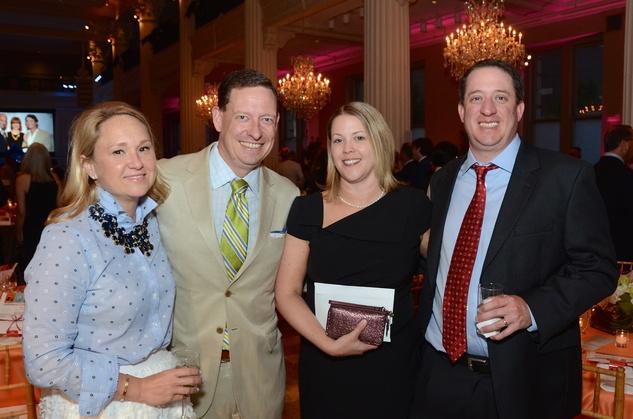 Children at Risk Gala, 4/2016, Susannah Watt, Chris Watt, Eve McFadden, Barry McFadden.
