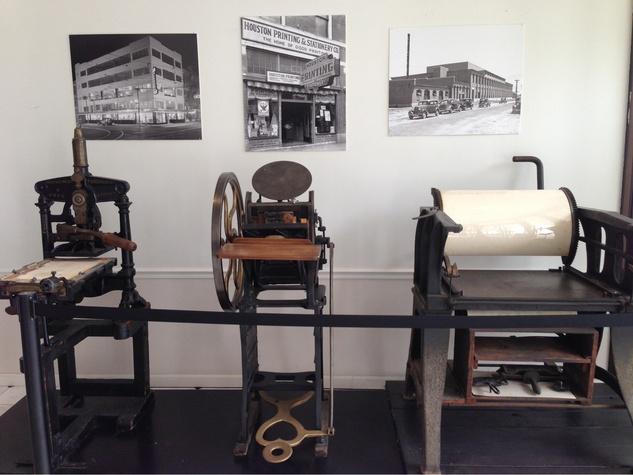 The Printing Museum Lobby