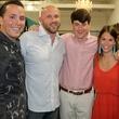 Joshua Vernon, Joey Davis, Matt Whalen, Kendall Nettle, and Jennie Malone, chantilly shopping event