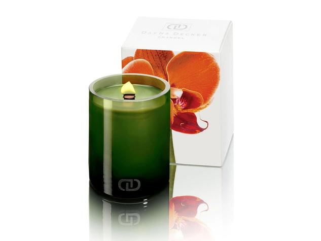 Dayna Decker Chandel candle in clementine