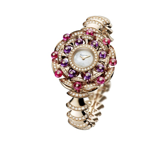 Bulgari Diva's Dream jeweled watch at Zadok