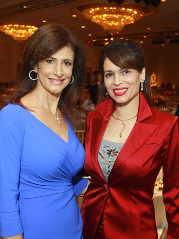 152 Souad Bejjani, left, and Karina Barbieri at the Child Advocates luncheon December 2013