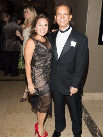 Art League Houston gala, October 2012, Penelope Marks, Lester Marks