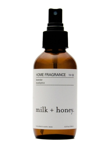 Milk + Honey home fragrance