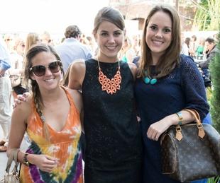 Lacie Coburn, Lauren Toledo, Caroline Reinert, YTAC, BubblyQ Kickoff