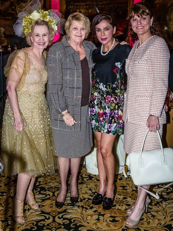 Yvonne Crum, Margie Wright, Naila Malik, Carolyn Tillery, roundup for autism