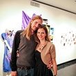 Joshua Wallis and Susi Brister at the Lawndale Gala and Retablo Silent Auction October 2013