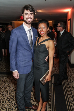 News, Shelby, Houston Arts Alliance, Lee Daniels event, May 2015, Rick and Claire Cormier Thielke