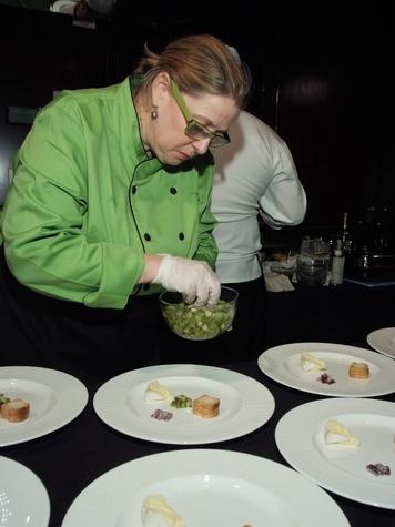55 Elizabeth Stone at the Bon Vivant Dinner January 2014