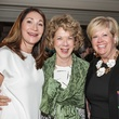 Soraya McClelland, from left, Francey Pengra and Betsy Garibaldi at the Cornerstone Dinner February 2015