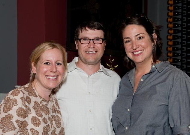 Sharon Lyle, Mark Mustchink, Catherine Cuellar