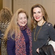 16 Yvonne Ziegler, left, and Celina Hellmund at the M.D. Anderson VEPS luncheon March 2014