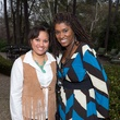 126 Dina Lawal, left, and Dawn Armstrong at The Kinkaid School Alumni luncheon March 2015