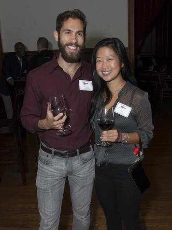 Alexander Aronovitz, Joanne Liou, Alley Theatre young professionals, Sept. 2014