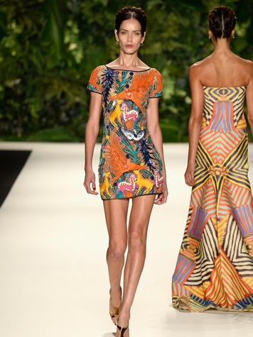 Fashion Week spring summer 2014 Naeem Khan 1