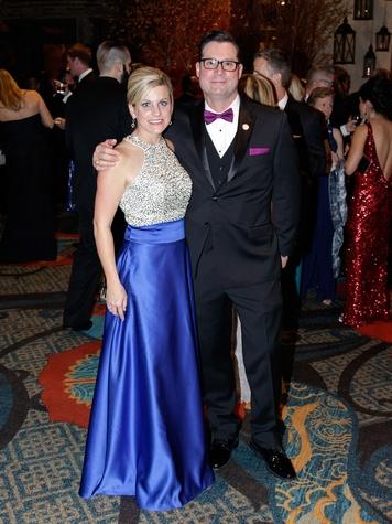 Jennifer Chandler, Scott Chandler, Crystal Charity 2017