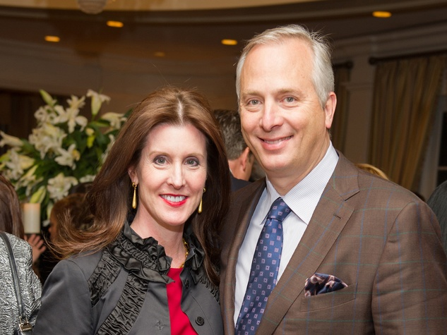 Phoebe and Bobby Tudor at the Preservation Houston Cornerstone Dinner February 2014