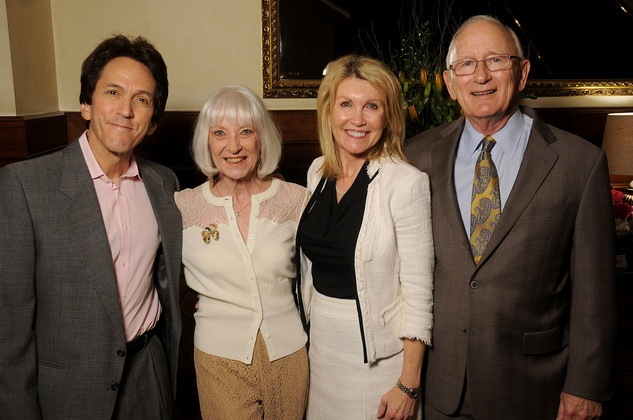 Hospice Butterfly Luncheon, March 2016, Mitch Albom, Cynthia Nordt, Marsha Hyslop, Bill Hyslop