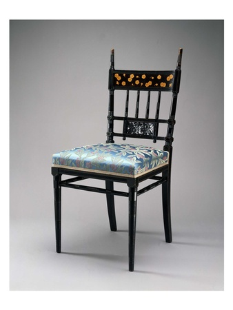 Joseph Campana, MFAH, Made in America, July 2012, Herter Brothers, Chair