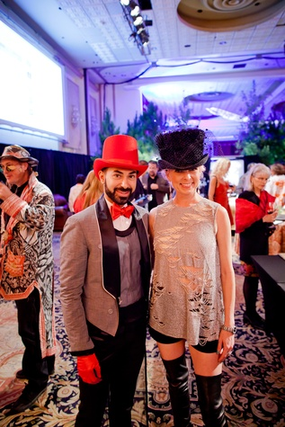 15 Fady Armanious and Vivian Wise at the Orange Show Gala November 2014