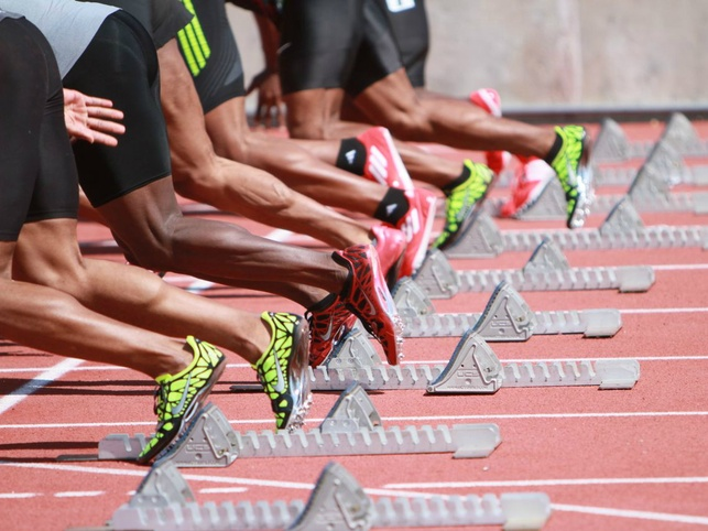 Texas Relays running on track