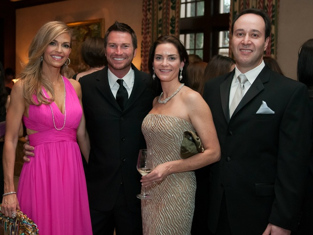 Laurie Graham, Chris King, Stacy Blank, David Blank, fashion stars for a cause