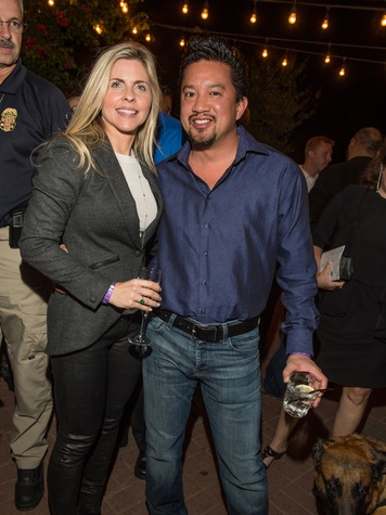 9 Jodi and Dr. Gene Lou at K9s4COPS Unleased 2013
