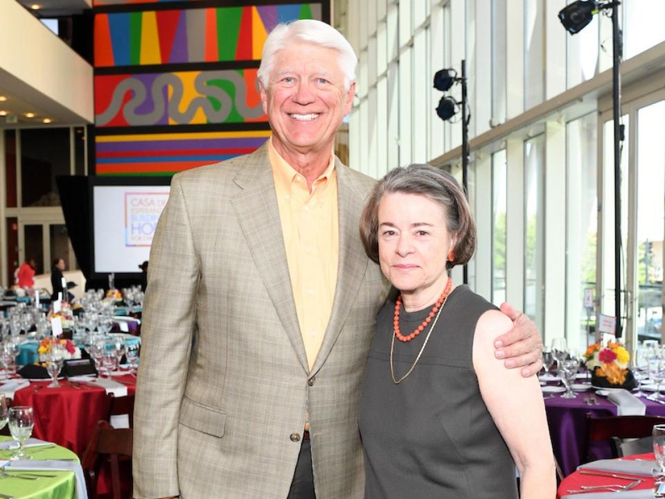 Houston, Casa de Esperanza Building Hope for Children Gala, April 2017, Wade Upton, Flo McGee