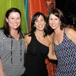 Shawn McElligot, left,  Jennifer Raymond and Erin Ayers at the Q The Salon Moroccan theme party September 2013