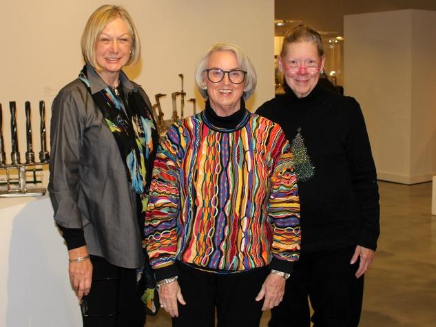 Doris King, Jo Hopper, Kathy Holman, 8x8