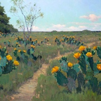 "William Reaves | Sarah Foltz Fine Art presents Allures of the ""Wild Horse Desert: Noe Perez and the Colors of South Texas"" opening reception"
