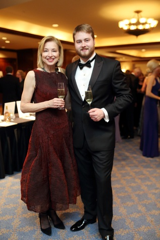 Denali Foundation gala, Feb. 2016, Meredith Cocke, Alexander Coke