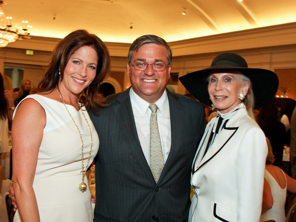 News_&#39;80s Supermodels luncheon_April 2012_Karen Pulaski_Gregg Davis_Joan Schnitzer-Levy
