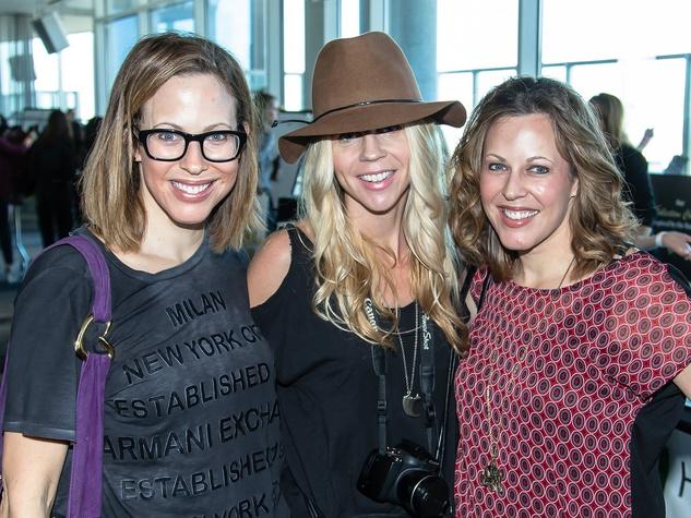 Allison Edwards, Kristy Morgan, Courtney Edwards at Simply Stylist