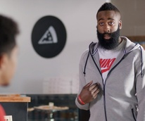 James Harden Foot Locker commercial at Siphon Coffee November 2014