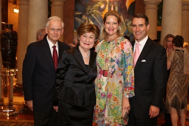News, Shelby, Symphony underwriter dinner, April 2015, Harry and Cora Sue Mach, Joella and Steve Mach