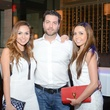 79 Yuri Romero, from left, Dustin Galetti, Yanely Galetti at the White Hot Summer Night Party at Eddie V's August 2014