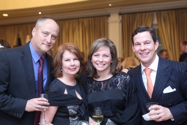 1362 Keith and leanne Reynolds, from left, and Carrie and Jacques Hodges at the Sire Under the Stars event March 2015