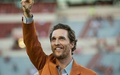 Matthew McConaughey University of Texas Austin longhorn hook em