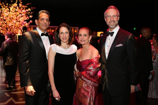 Tuts Gala 2015 Ann & Jorge Leis and Gail & Milton Klein