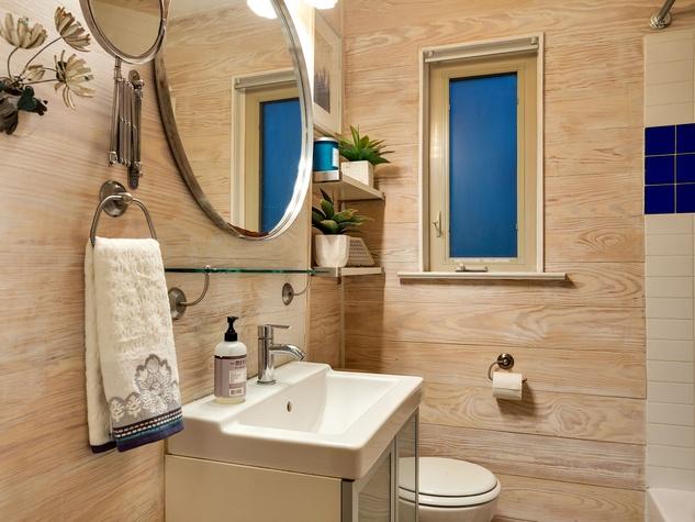 East Austin house home 1131 Poquito Street 78702 bathroom