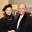 14 Minnete Boesel and Alfred Moran at the mayoral inauguration reception at the Houston Food Bank January 2014