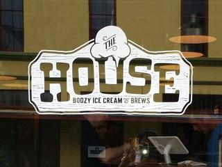 The House boozy ice cream and brews San Antonio