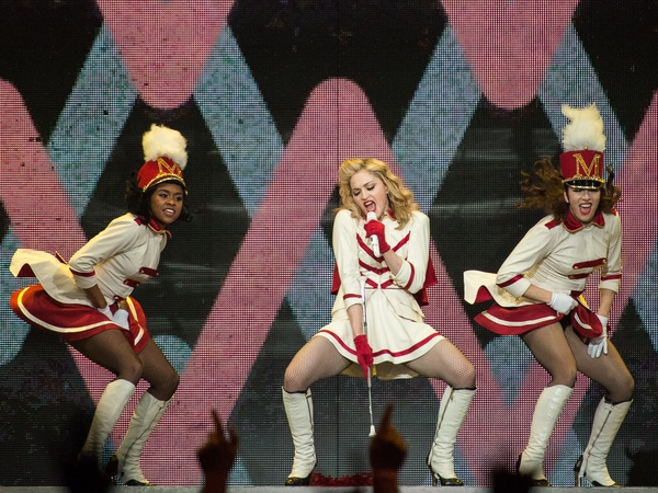 6, Madonna concert, October 2012