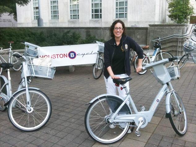 B-Cycle, Houston, Laura Spajian