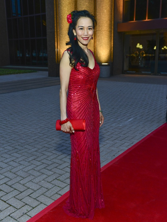 12 Y. Ping Sun - Aiden Mattox at the Opera Ball April 2014