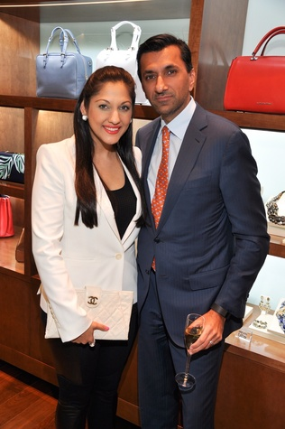 252 Sippi and Ajay Khurana at the Third International Mothers Day Soiree Kick-off March 2015