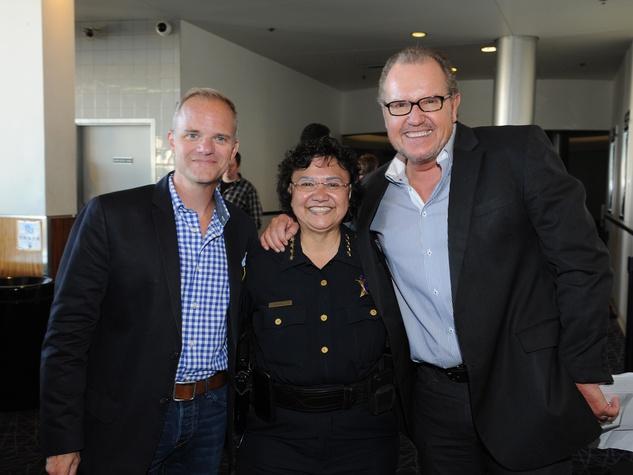 Miller Crowe, Sheriff Lupe Valdez, John McGill, Black Tie Dinner, HBO