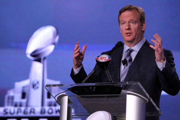 Roger Goodell Super Bowl